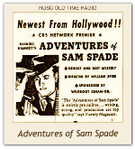 Adventures Of Sam Spade, Detective, The